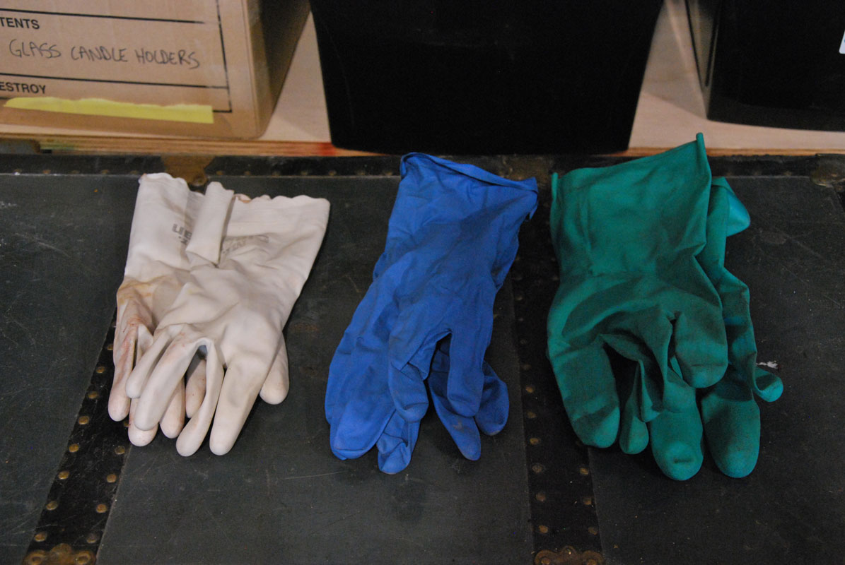 Rubber gloves Image