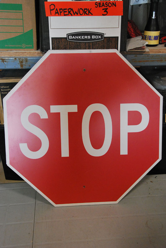 Stop sign Image