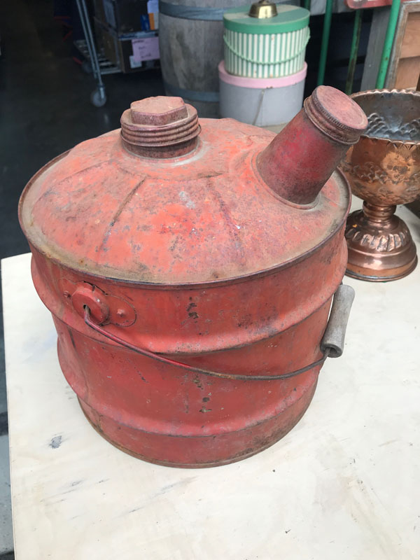 Vintage gas can Image