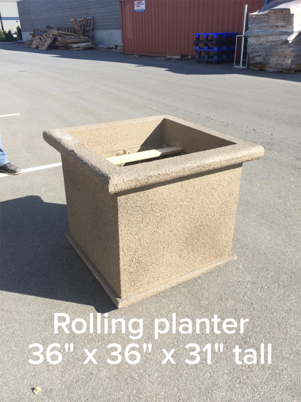 Planter (rolling) Image